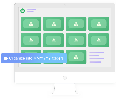 Organize into MM/YYYY folders